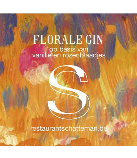 Front Florale Gin